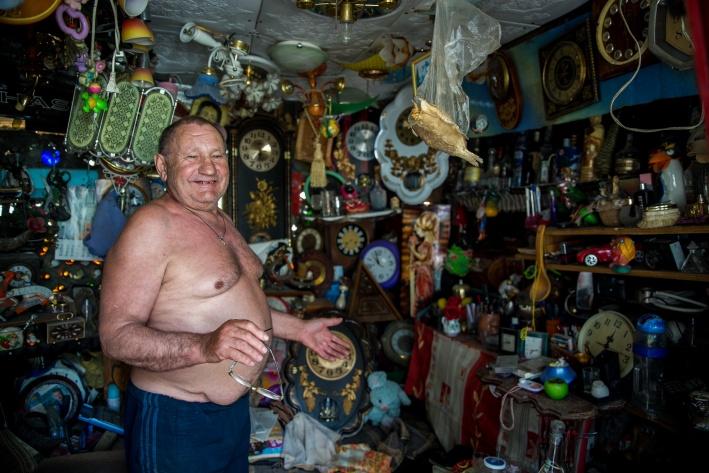 Эту комнатку Геннадий Петрович назвал «уголком психологической разгрузки»
