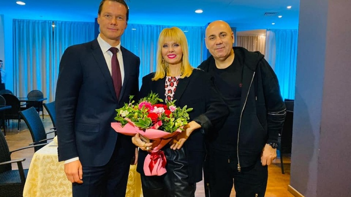 В Ярославле певица Валерия рассказала о своем счастье