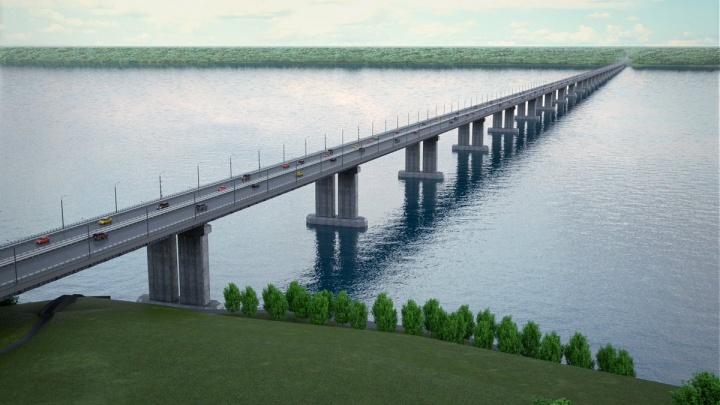 Областные власти опубликовали видеопрезентацию моста у Климовки