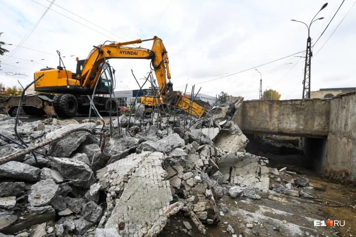 Подземный переход на Эльмаше признали аварийным еще в 2016 году