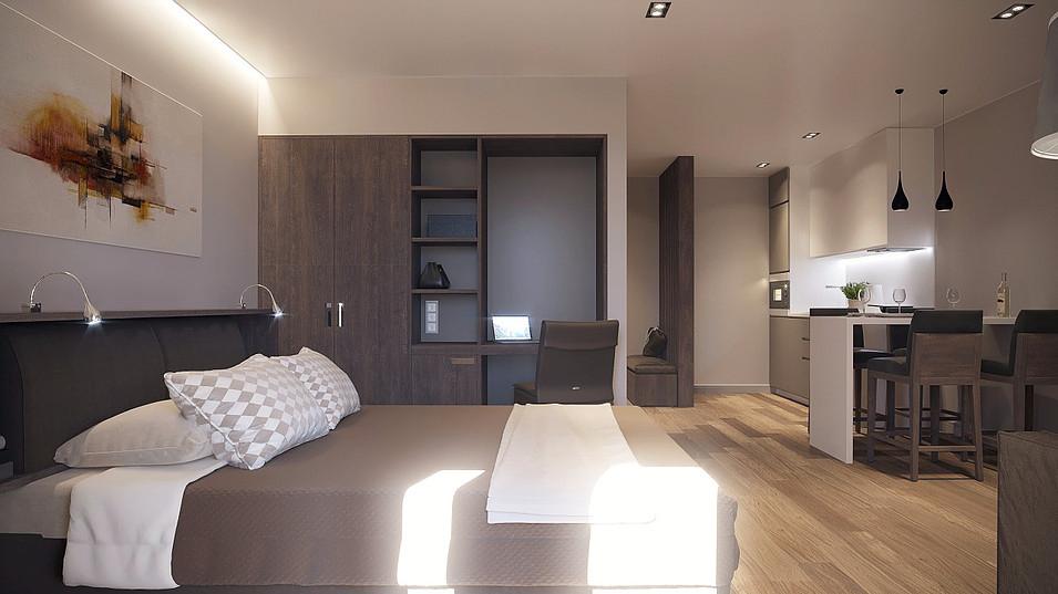 В компании надеются, что большинство квартир они укомплектуют всей мебелью сами — и получат в управление