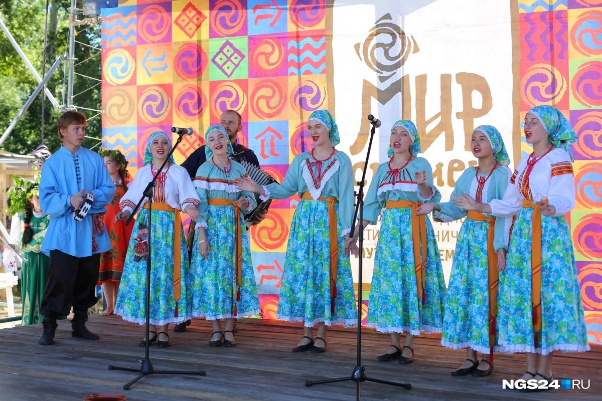 Этнический фестиваль «МИР Сибири» потихоньку раскачивается