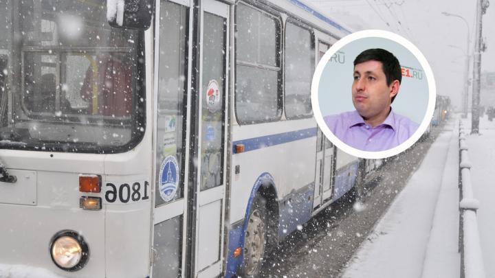 «Мэрия тоже должна идти на определенные риски»: общественник Алексей Беззуб — о транспортной реформе