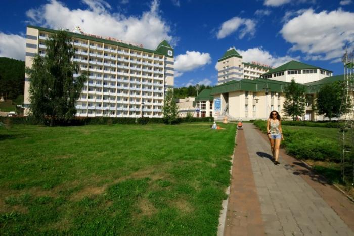 Санаторий в городе-курорте Белокуриха
