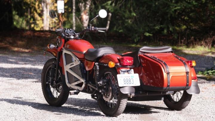 «Урал» создал электрический мотоцикл с коляской, который разгоняется до 140 км/час