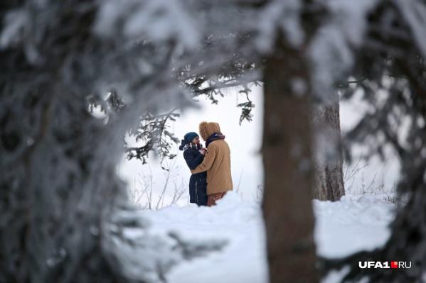 Суровый февраль не помеха горячим отношениям