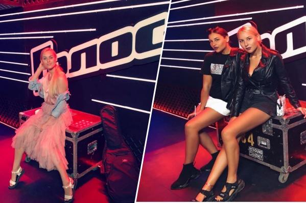 Участницы из Красноярска борются за место в 8-м сезоне шоу «Голос»