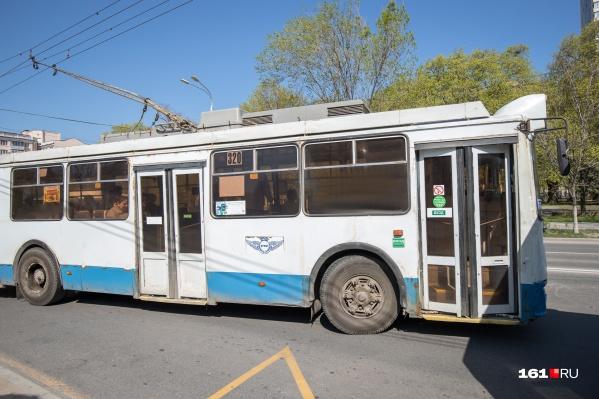 С начала года в городе троллейбусы снова начали ходить по трем направлениям