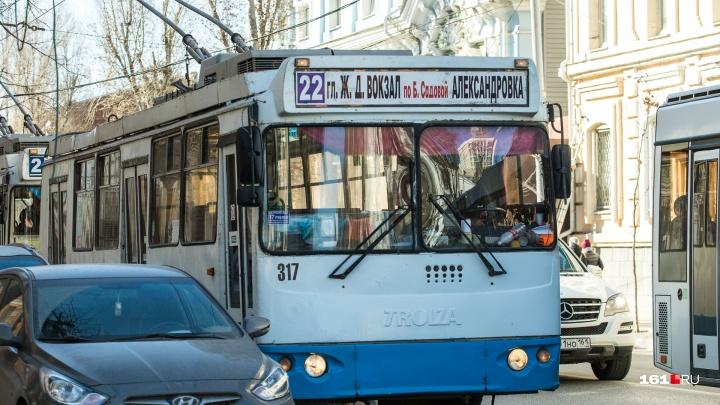 Аукцион на новые троллейбусы в Ростове приостановлен из-за жалобы в ФАС