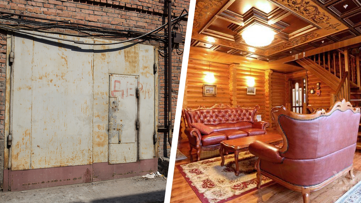 Берлога класса люкс: 10 новосибирских гаражей, в которых можно жить
