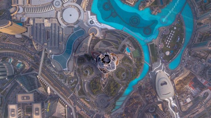 Выше, чем «Бурдж-Халифа»: волгоградец снял редкие кадры над «головой» самого высокого здания в мире
