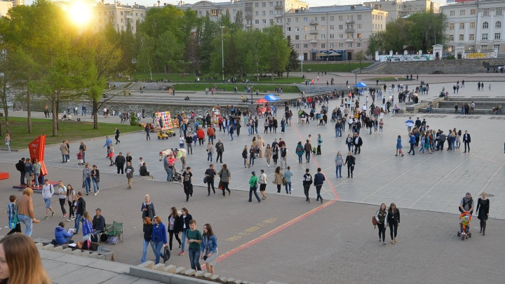Разогрелись до 29 градусов! В Екатеринбурге побит температурный рекорд