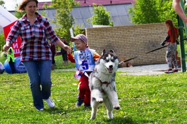 Весело было всем — и детям, и родителям, и собакам