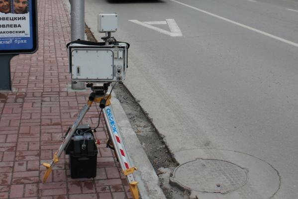 C 20 октября на дорогах Новосибирска могут появиться новые «треноги»