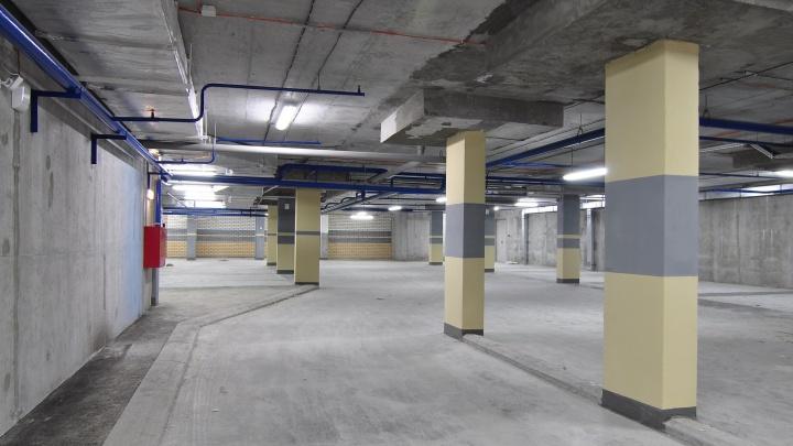 В Екатеринбурге начали продавать подземные паркинги в комплекте с квартирами