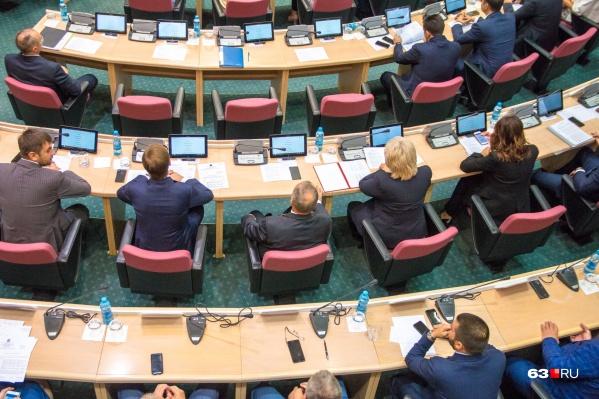 Депутаты выберут председателя думы на пленарном заседании