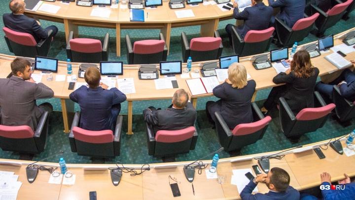 Единороссы выберут кандидата на пост спикера Самарской губернской думы 15 октября
