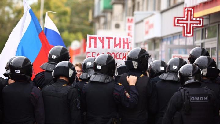 Итоги 9 сентября: повестки в полицию получили 23 новосибирца, в том числе два подростка