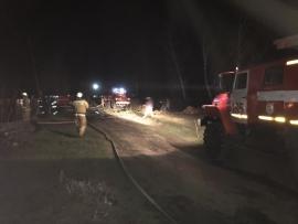 В Самарской области на пожаре в частном секторе погибли два человека