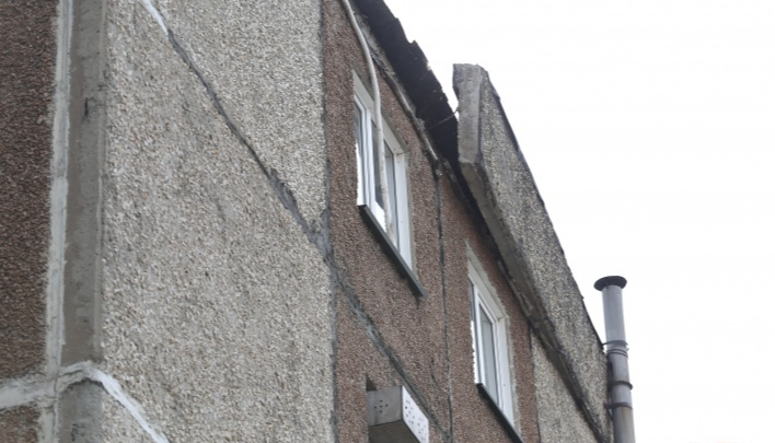 Прокуратура выехала в челябинский дом, где обрушилась бетонная плита