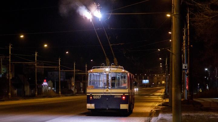 «Мы только проверить»: в Кировский район Волгограда вернули троллейбус