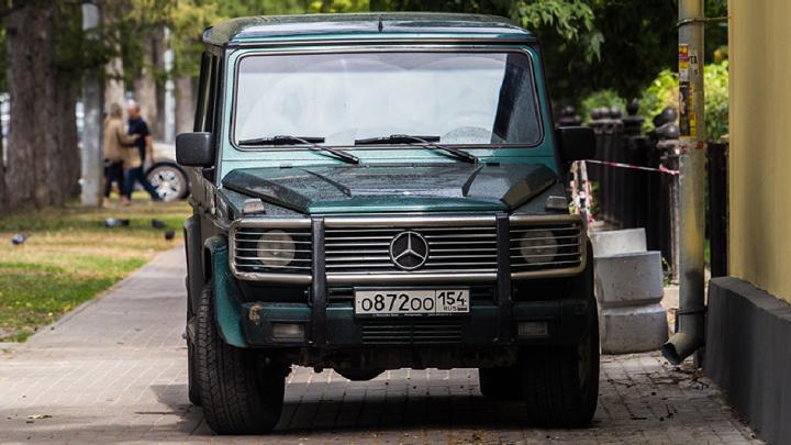 «Я паркуюсь как чудак»: «Гелендваген» ООО — пошли вон из Центрального парка
