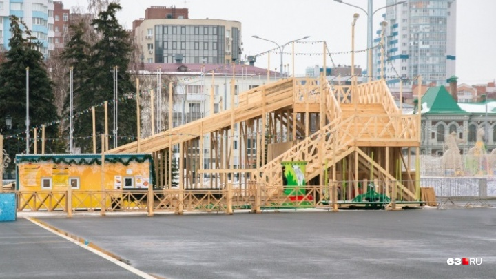 На площади Куйбышева установят горки, но в обновленном формате