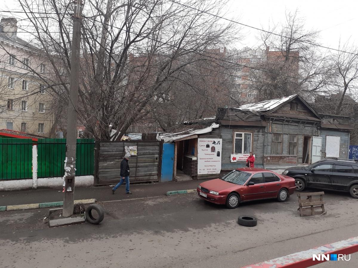 Небольшой захват парковки на улице Трудовой