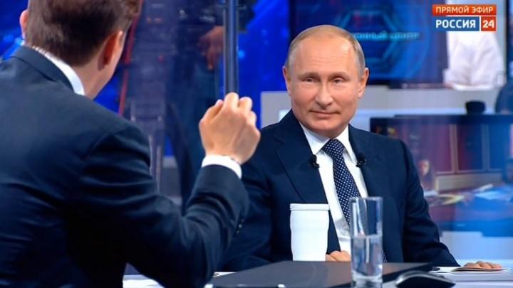 Ну и цены: мы показали Путину, сколько стоит жизнь в России