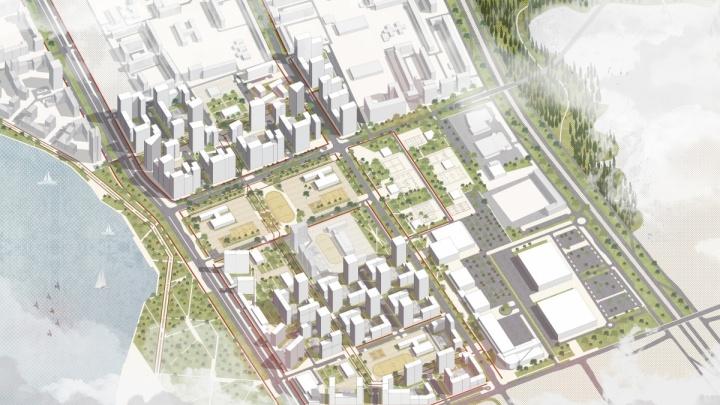 Авторы глобального проекта по застройке ВИЗа передумали строить «Ленту»