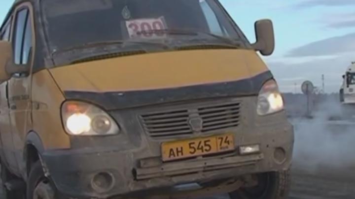 Водителя челябинской маршрутки задержали пьяным, когда он вёз пассажиров