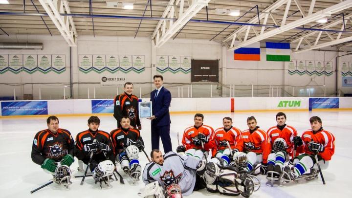 Следж-хоккеисты Башкирии завершили дебютный сезон при поддержке «МегаФона»