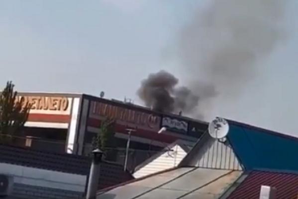 Причины пожара устанавливаются