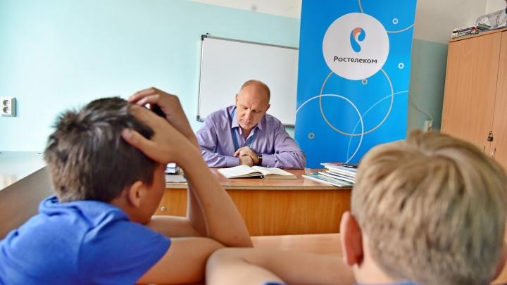 «Ростелеком» провел чтения «с увлечением» в детских больницах Хакасии