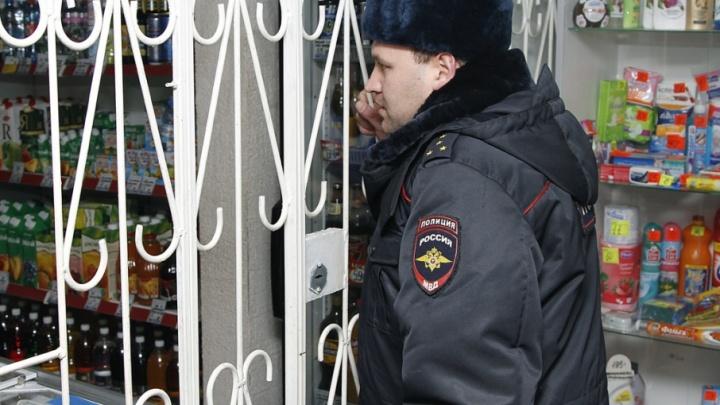 Предприниматель вместе с соседями поймал и запер воров в своем магазине в Белозерском районе