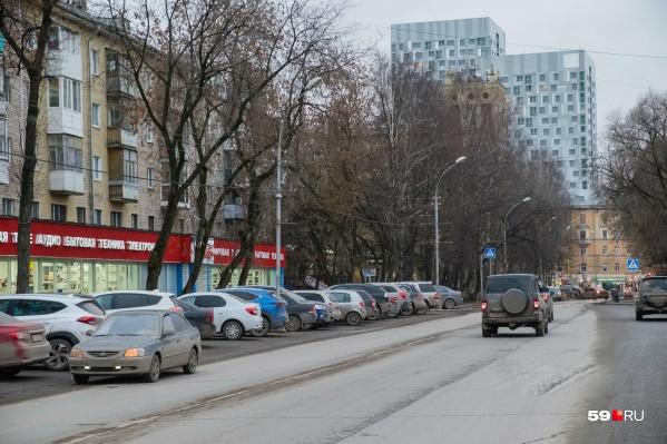 Улицу перекроют на участке между Компросом и улицей Сибирской