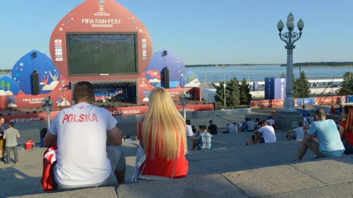 Нет футбола — нет народа: на раскаленном фан-фесте Волгограда ждут болельщиков Польши и Японии