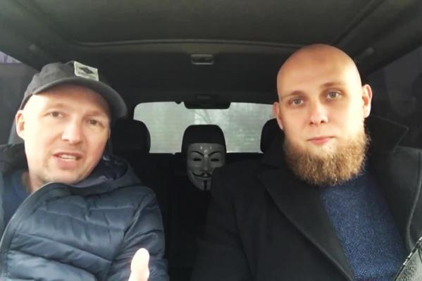Блогеры с YouTube-канала «Новосибирский» сняли ролик про нарушителей на «Лексусах» с особенными номерами