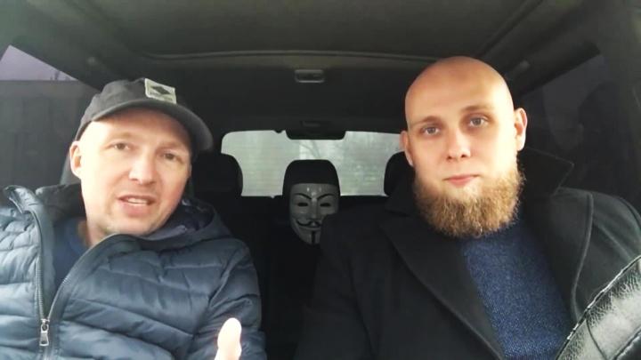 Видео: новосибирцы выгнали два «Лексуса» с парковки для инвалидов