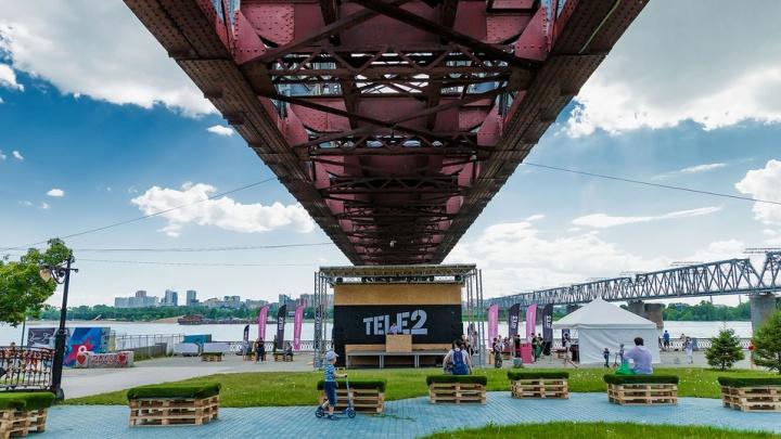 Раньше, чем в Москве: на Михайловской набережной открылся онлайн-парк Tele2 с кинотеатром