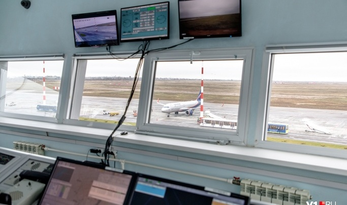 Аэропорт Волгограда работает в штатном режиме