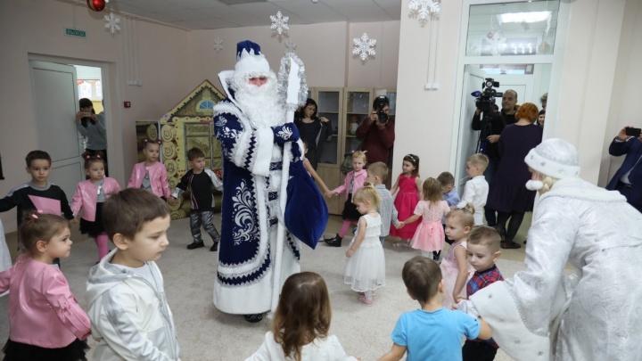 4 ясельных группы и сенсорная комната: в Самаре открыли новый детский сад