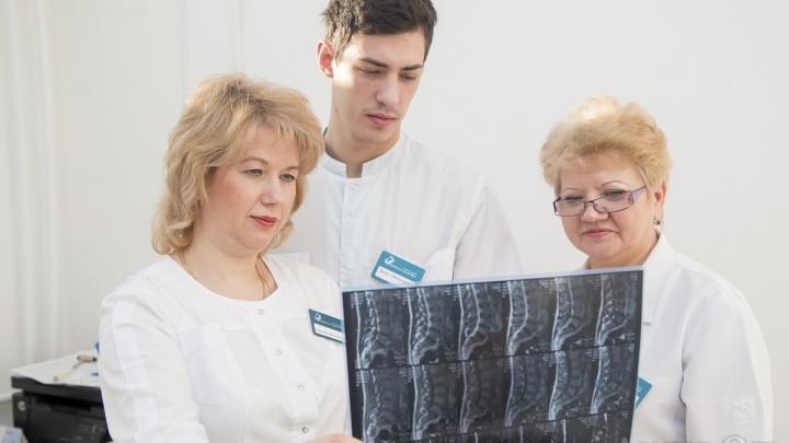 В Красноярске начали лечить боли в спине невесомостью