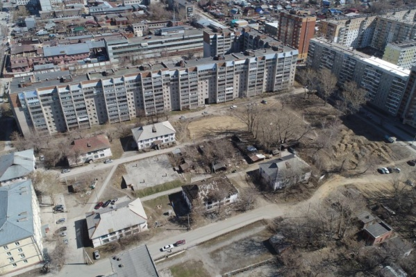 К концу 2021 года в квартале с аварийными домами появятся новые урбан-виллы