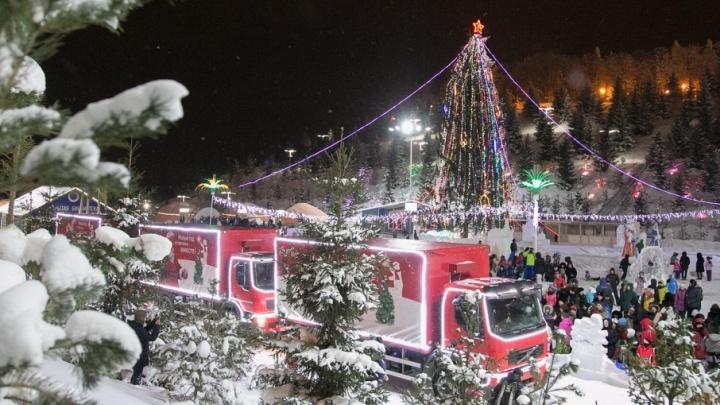 Рождественский караван заедет в Уфу и Стерлитамак