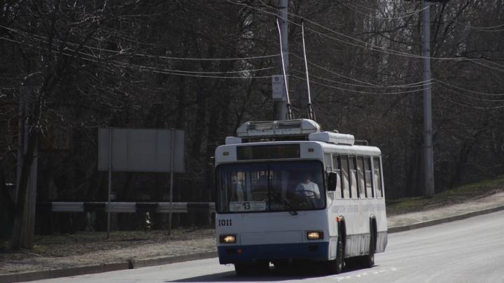 Проезд в троллейбусах стал дешевле