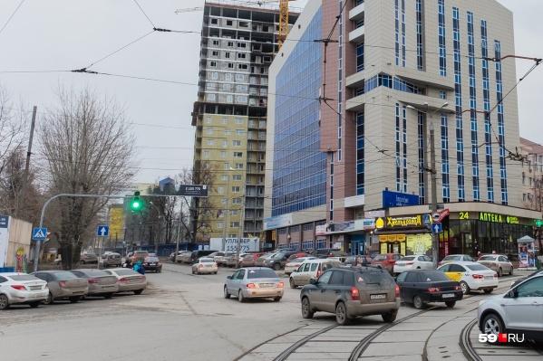 Реконструкция улицы Революции начнется с этого участка