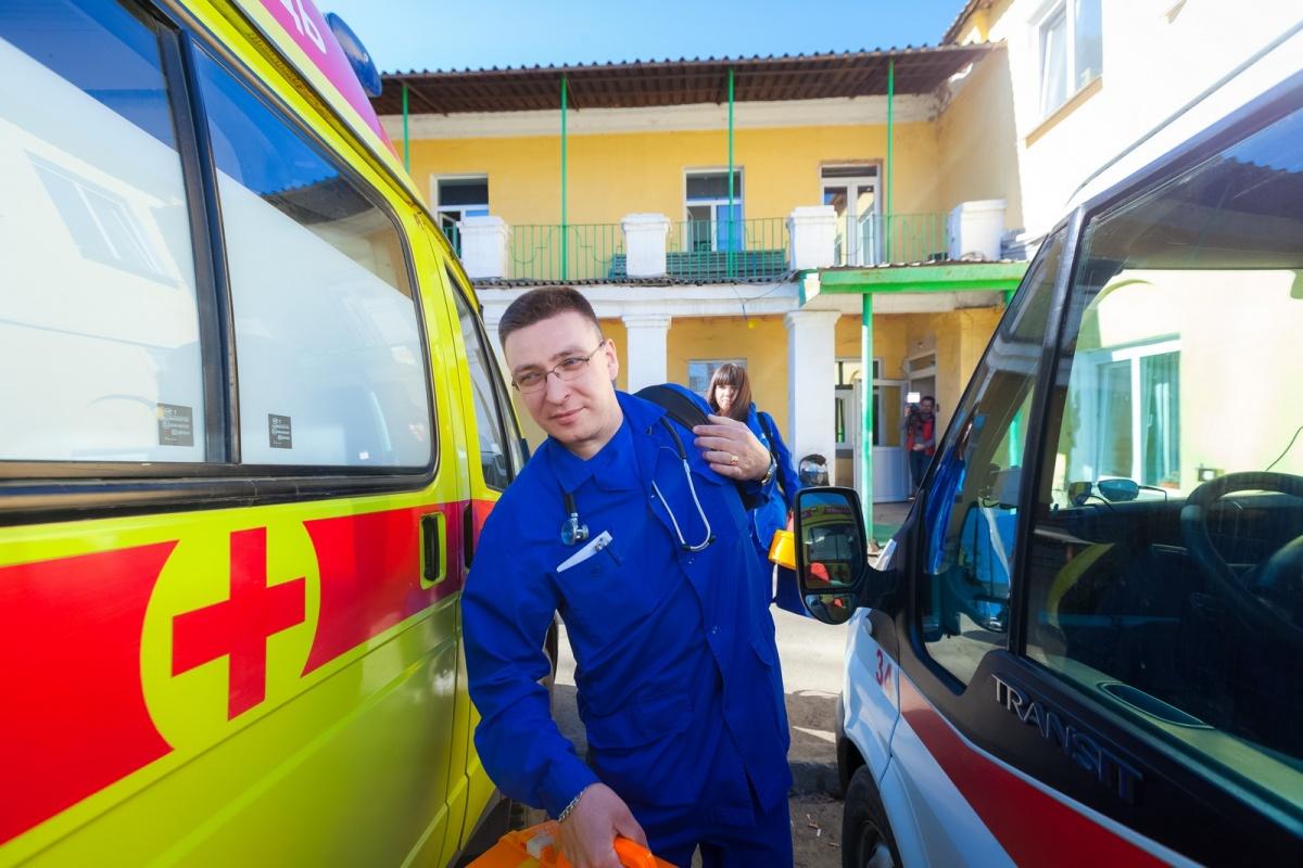 Виктор Пястолов работает на подстанции скорой помощи Металлургического района Челябинска