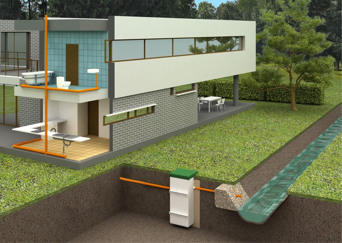 Как уральцам решить проблему канализации в загородном доме