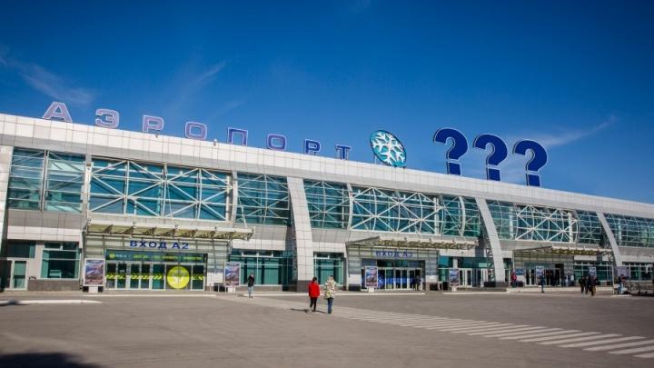 Приходи и предлагай: в Новосибирске начали собирать варианты имён для аэропорта Толмачёво